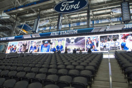 LED Wall ATT Stadium | Technomedia
